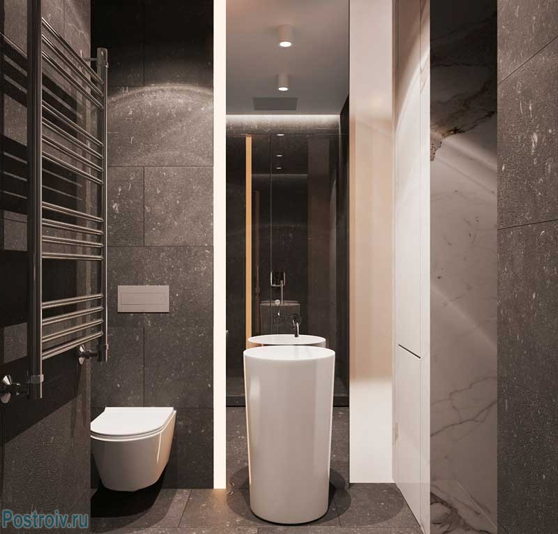 black-bathroom